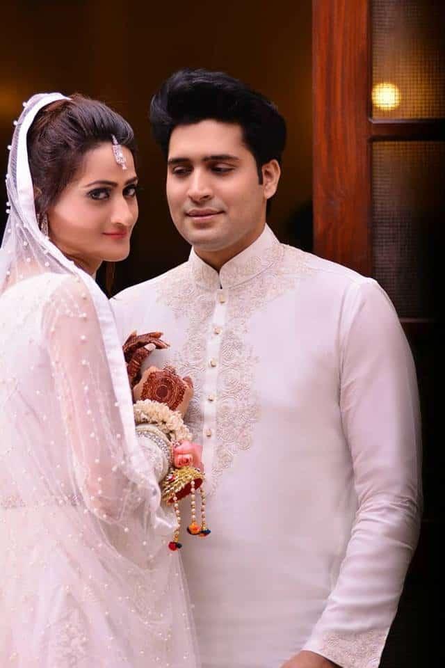 Asad Mehmood's Nikah With Model Sarah Shehzad