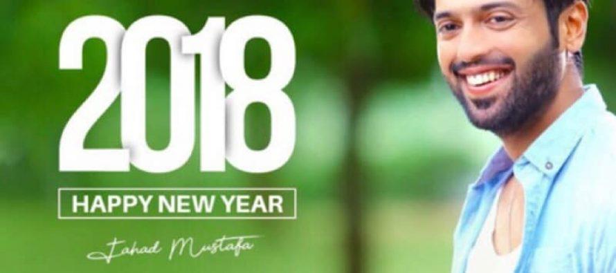 Celebrities Welcome 2018 !!!