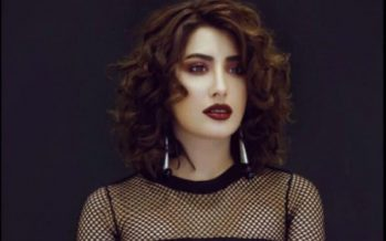 Mehwish Hayat Wears Black To Stand Up For Women's Rights