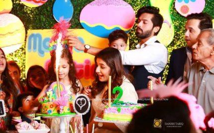 Fahad Mustafa Celebrates His Kids' Birthday!!