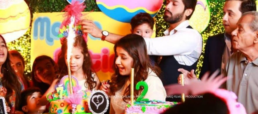 Fahad Mustafa Celebrates His Kids' Birthday!!