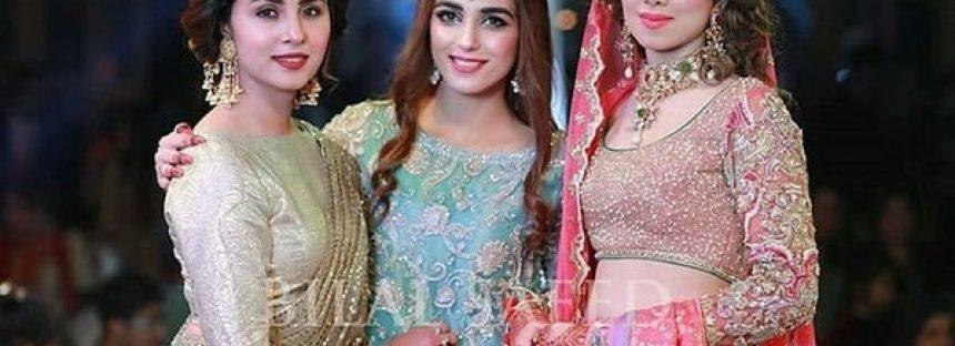Maya, Sanam And Nimra Dazzles At A Friend's Wedding!