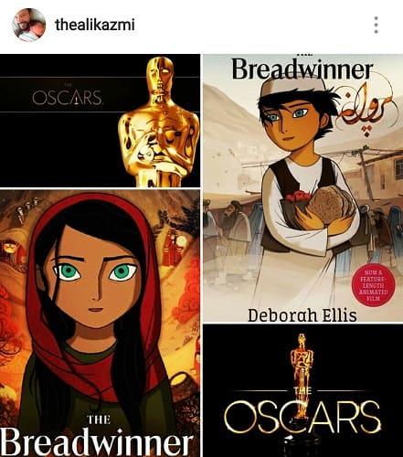 Ali Kazmi Starrer The Breadwinner Nominated For Oscars