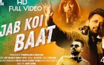 "Listen To ""Jab Koi Bat Bigar Jai"" By Atif Aslam"