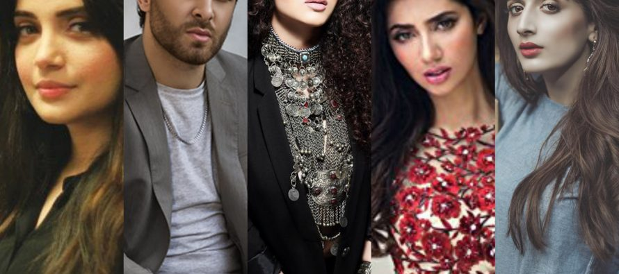 Pakistani Celebs Stand For Syria