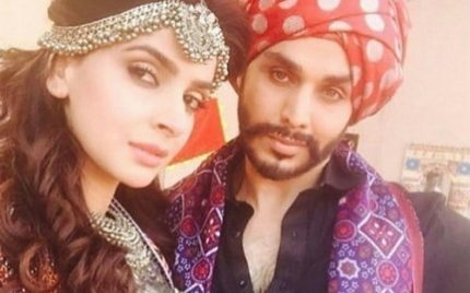 Saba And Ahsan In Moomal Rano!