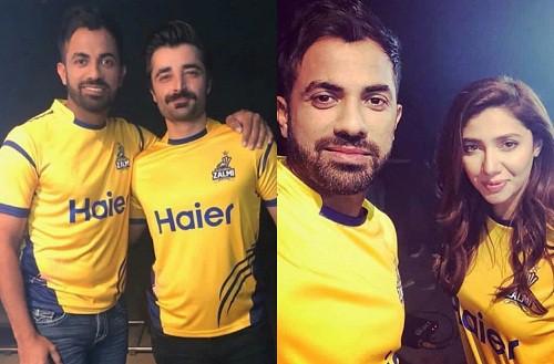 Mahira And Hamza Join Zalmi Camp!
