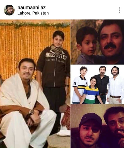 Noman Ijaz Gets A Beautiful Birthday Wish From His Son!