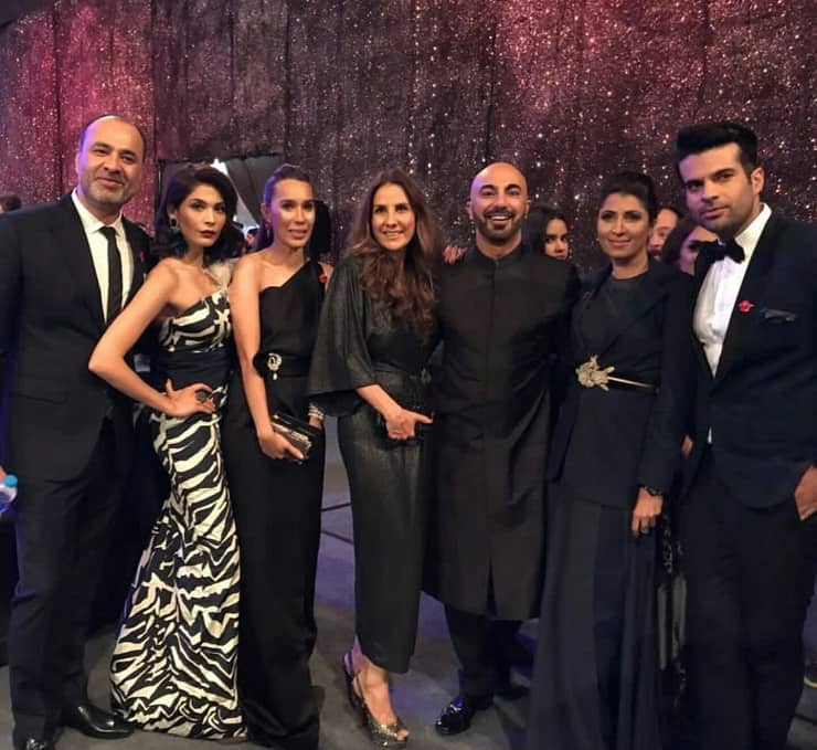 Celebrities At The Lux Style Awards 2018!