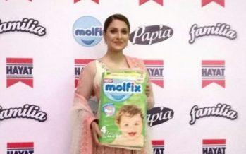 Ayeza Khan Becomes The Brand Ambassador of Molfix