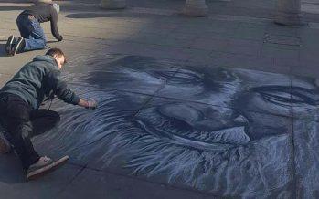 British Artist Pays Tribute To Edhi Sahab