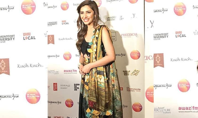 Mahira Khan Wins Award At UK Asian Film Fest