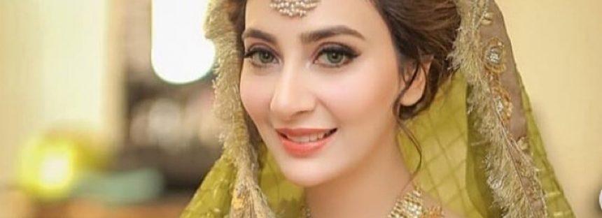 Aisha Khan Looks Lovely On Her Mayun And Mehndi