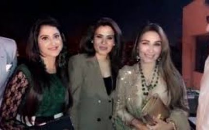Resham And Reema Khan Openly Support Ali Zafar!