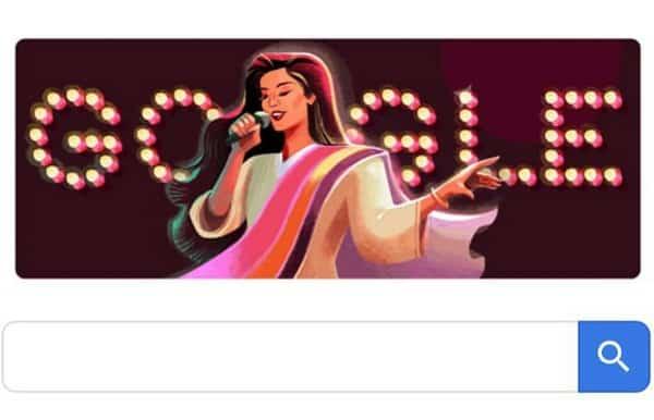Google Honours Legendary Nazia Hassan!