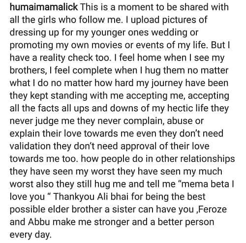 Humaima Malik Shares An Emotional Moment!