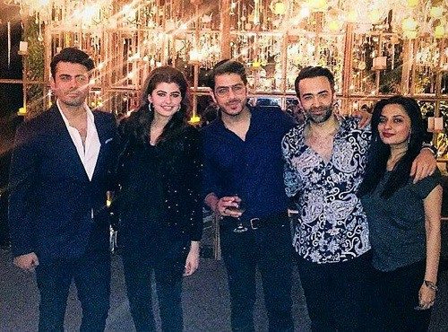 Fawad Khan Throws A Surprise Birthday Party For Wife Sadaf!