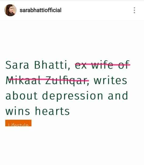 Sara Bhatti Talks About Self Identity!