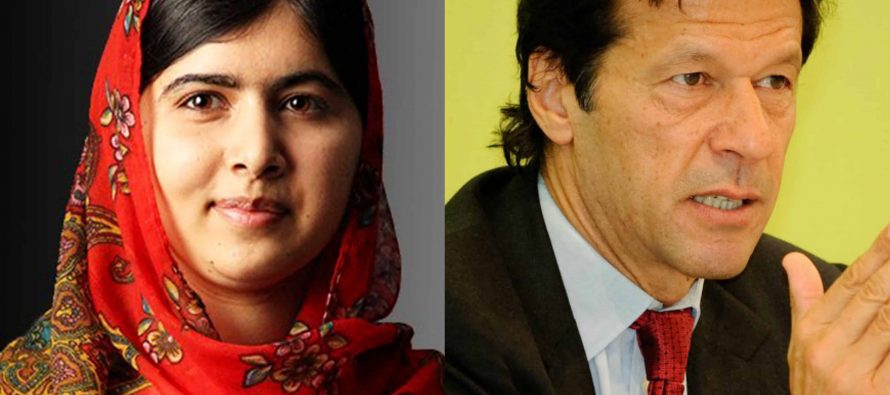 Malala, Imran Khan Made It To World's Most Admirable People of 2018 List