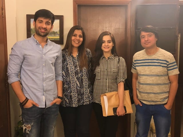 Aiman Khan And Muneeb Butt To Star In Moomal Entertainment's Baandi!