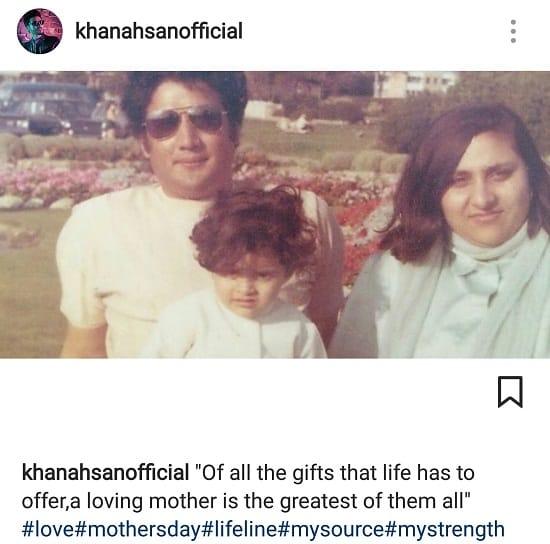Pakistani Celebs Celebrated Mother's Day!