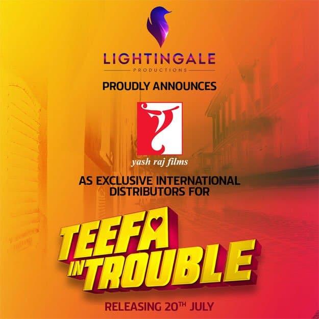 YashRaj Films To Release 'Teefa In Trouble' Worldwide