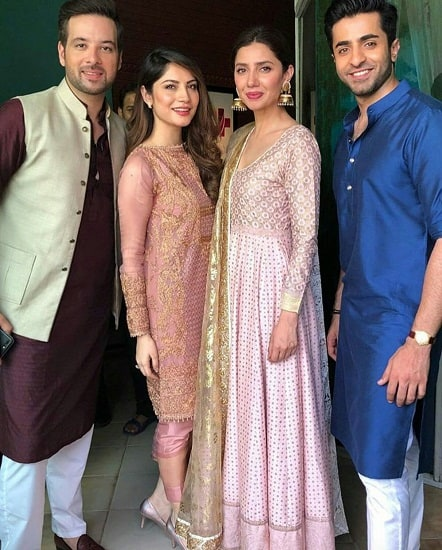 Mahira Khan Goes Traditional For 7DMI Promotions!