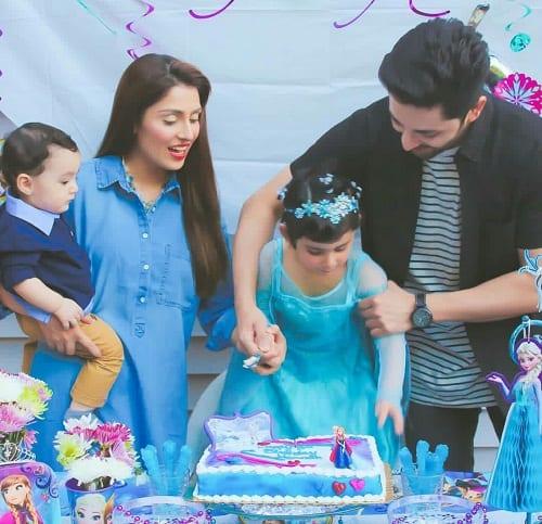 Ayeza And Danish Celebrated Hoorain's 3rd Birthday!