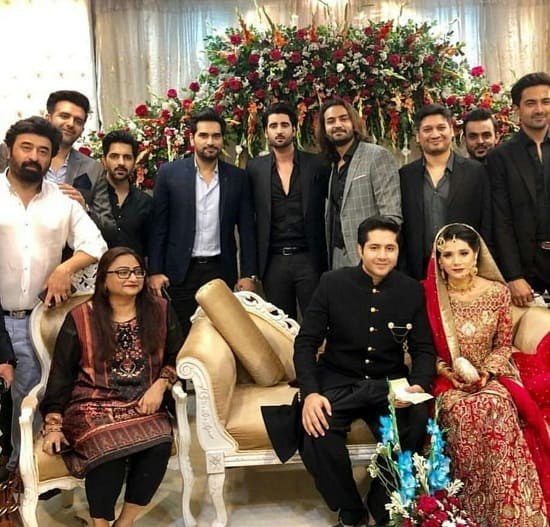 Imran Ashraf's Wedding Pictures!