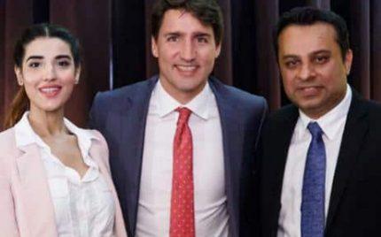 Hareem Farooq Meets Justin Trudeau