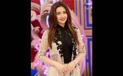 "Sana Javed shares the first look of her character ""Heer"" from the upcoming Drama ""Romeo Weds Heer"""
