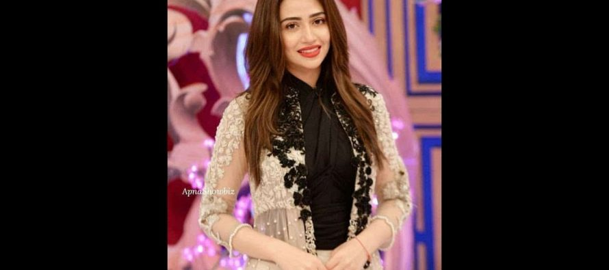 """Sana Javed shares the first look of her character """"Heer"""" from the upcoming Drama """"Romeo Weds Heer"""""""