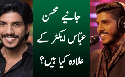 Janiye Mohsin Abbas Haider Actor ke ilawa kia hain