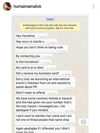 Humaima Faced Harassment At A Hotel!