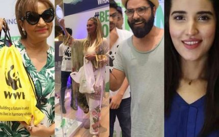 Celebrities Join #BeatPlasticPollution