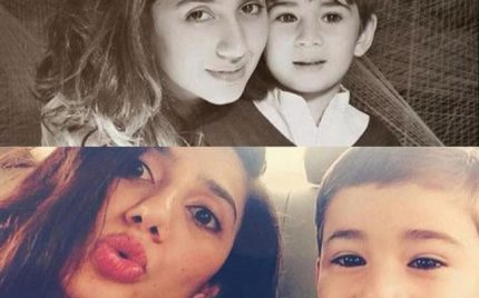 Azlan Made Mom Mahira Khan Emotional