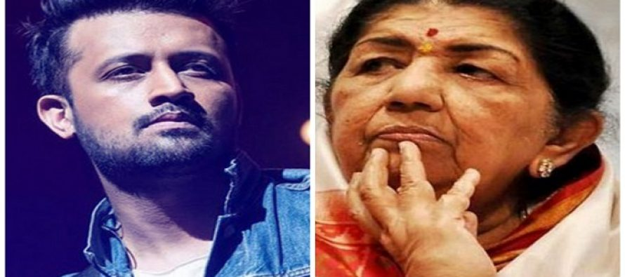 Lata Mangeshkar Is Not Happy With Atif Aslam