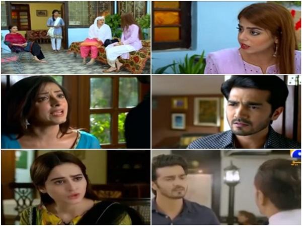 Ghar Titli Ka Par Episode 33 Anji In Trouble Reviewit Pk