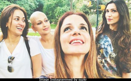 Sonali Bendre diagnosed with cancer earlier this year