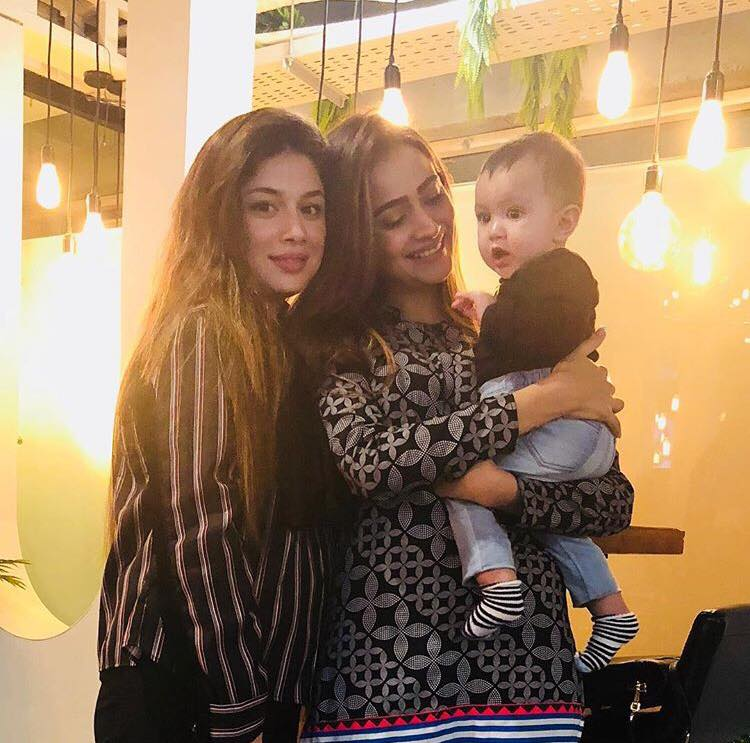 The Cutest Pictures of Sidra Batool's Daughter