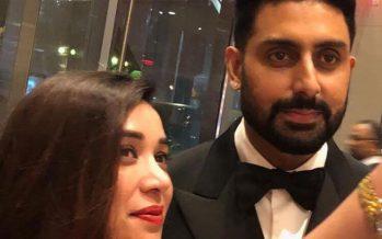 Komal Rizvi Met Abhishek Bachchan At TIFF