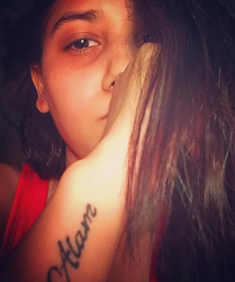Tattoo on Hina Altaf's Arm. Who Is That Someone Special?