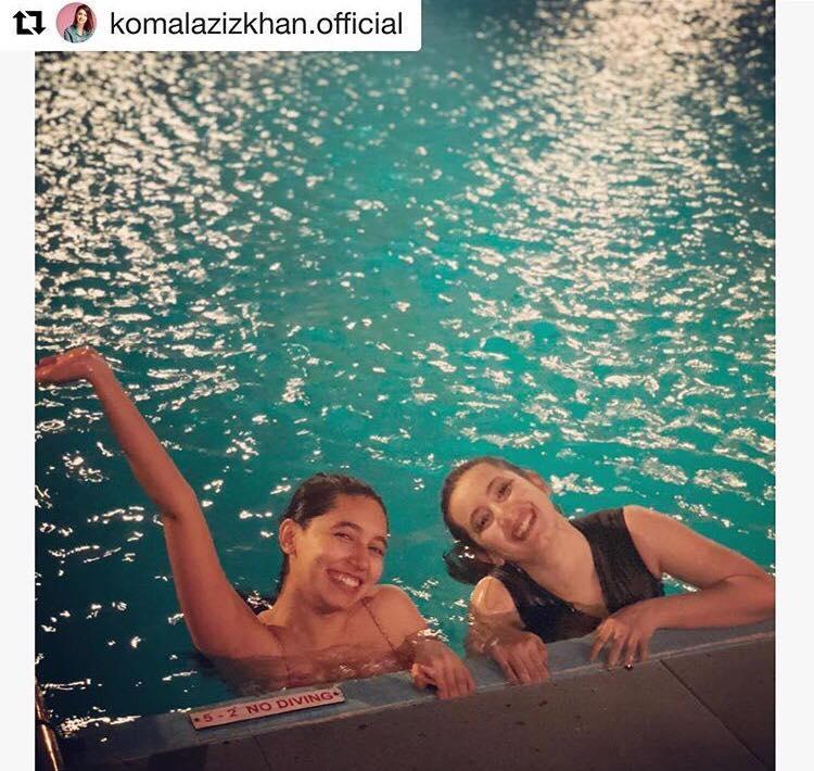 Komal Aziz Khan & Her Sister Make A Gorgeous Duo