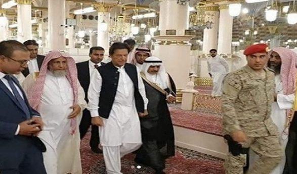 Prime Minister Imran Khan In Saudi Arabia – Pictures