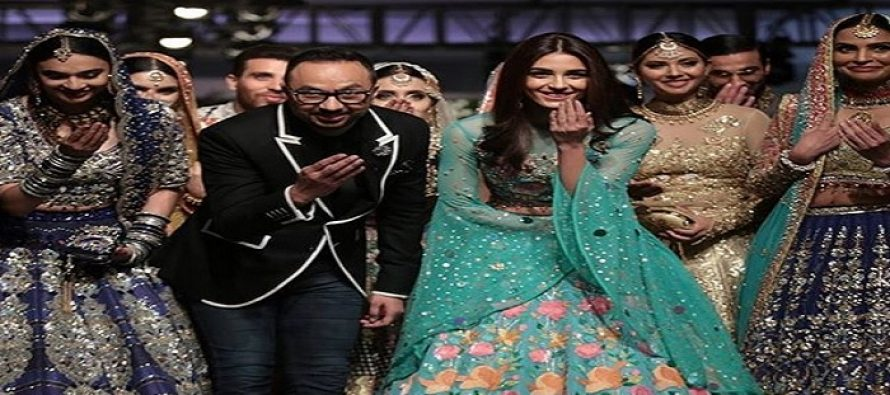 Maya Ali Showstopper for Nomi Ansari – Photos and Videos