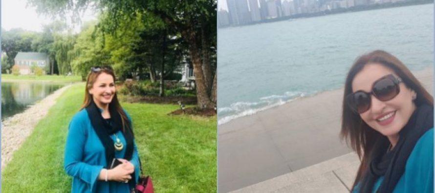 Saba Faisal and Seemi Pasha Vacationing in USA
