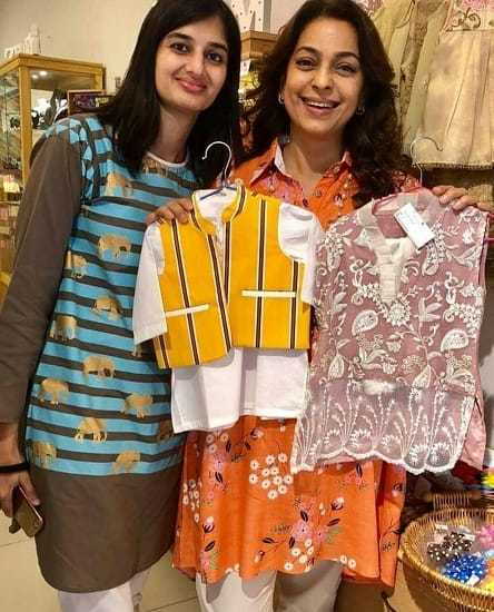 Juhi Chawla Loved Shopping In Karachi!