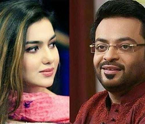 Aamir Liaquat Hussain Shares Pictures With Both Wives!