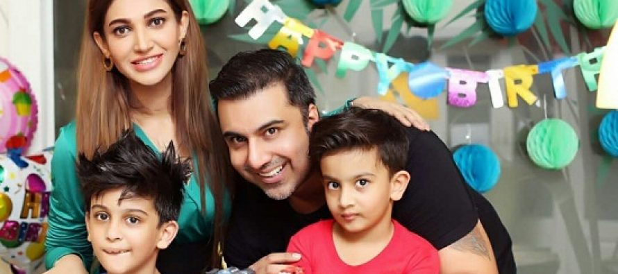 Sana Fakhar Celebrates Son Rayyan's Fourth Birthday!