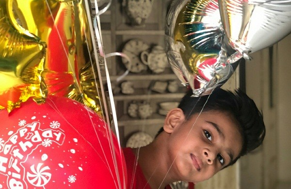 Sana Fakhar Celebrates Son Rayyan's Fourth Birthday!